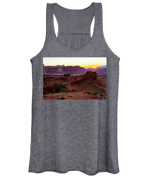 Capitol Reef Sunrise Women's Tank Top