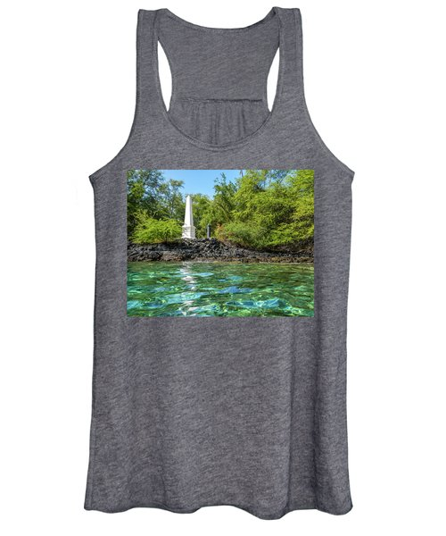 Captain Cook Monument Women's Tank Top