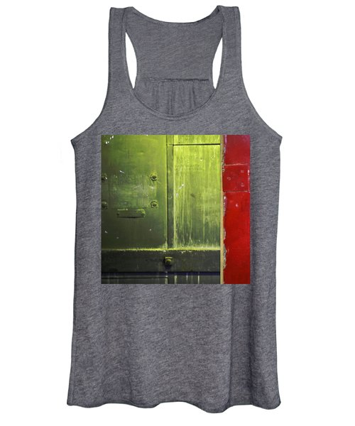 Carlton 6 - Firedoor Abstract Women's Tank Top
