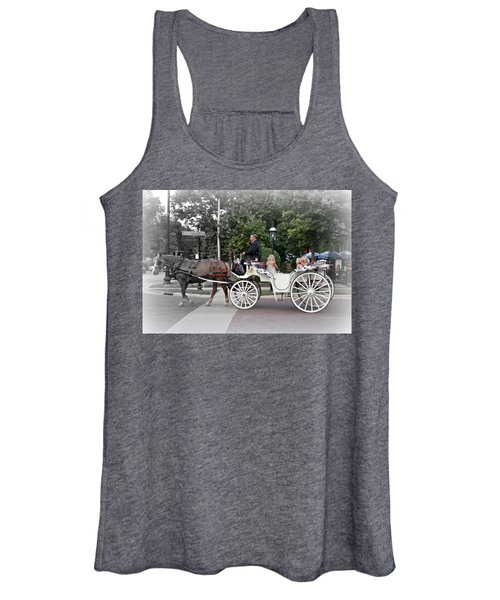 Carriage Ride Into Yesteryear Women's Tank Top