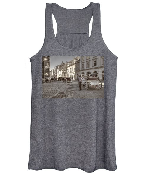 Carriages Back To Stephanplatz Women's Tank Top