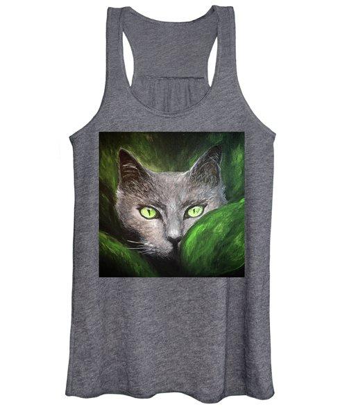 Cat Eyes Women's Tank Top