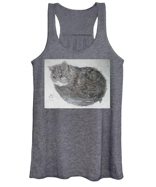 Cat Named Shrimp Women's Tank Top