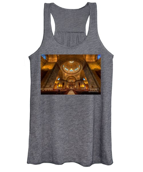 Cathedral Of St Paul Wide Interior St Paul Minnesota Women's Tank Top