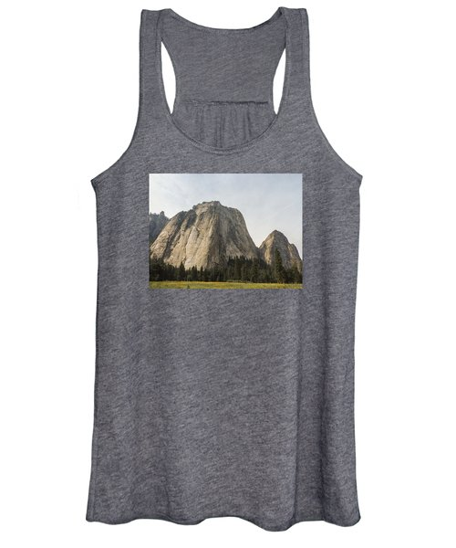 Cathedral Spires Yosemite Valley Yosemite National Park Women's Tank Top