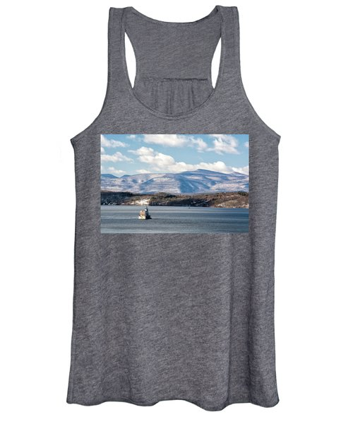 Catskill Mountains With Lighthouse Women's Tank Top