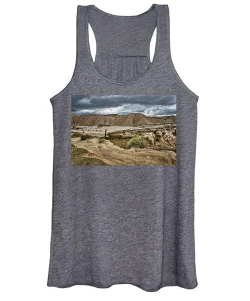 Caution - Steep Cliffs - Toadstool Geologic Park Women's Tank Top