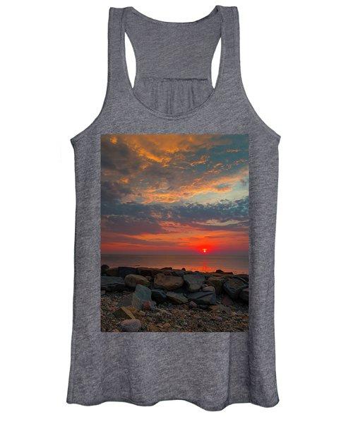 Cedar Point Sunrise Women's Tank Top