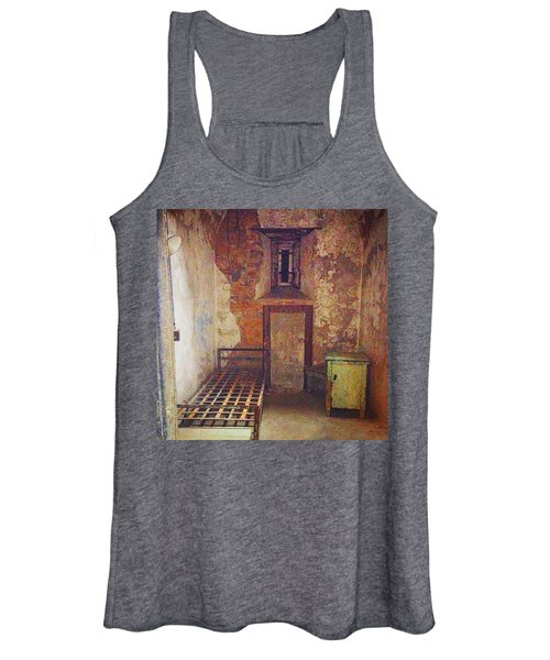 Cell At Eastern State Penitentiary Women's Tank Top