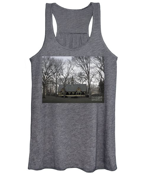 Centrally Located Women's Tank Top