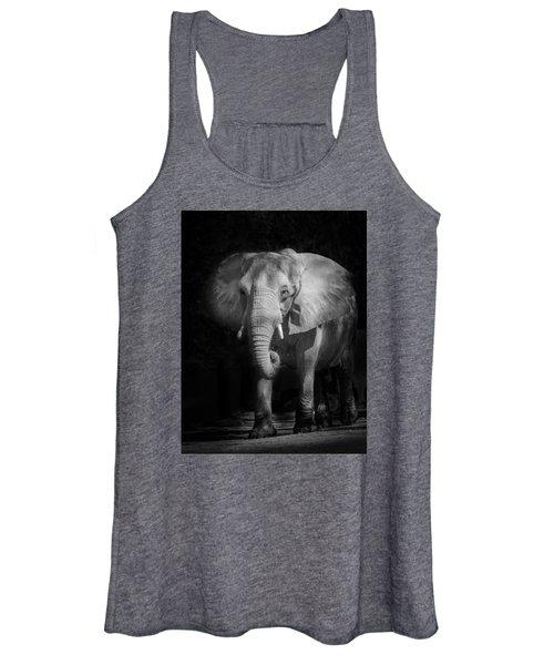 Charging Elephant Women's Tank Top