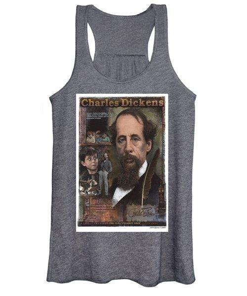 Charles Dickens Women's Tank Top