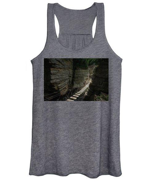 Chasm Bridge Women's Tank Top