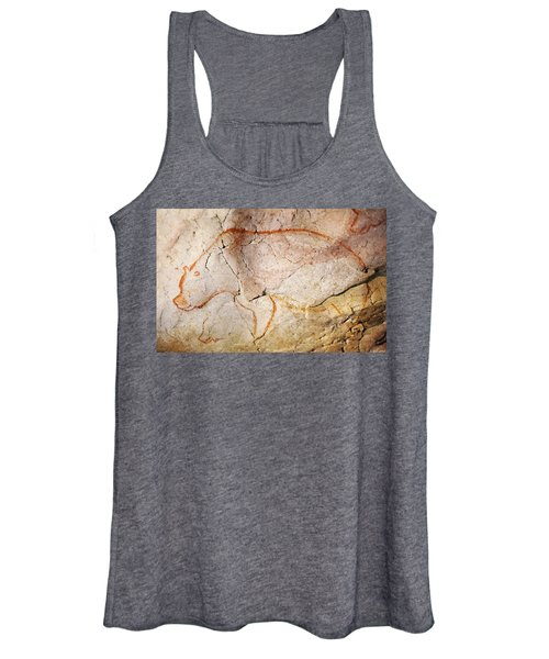 Chauvet Cave Bear 3 Women's Tank Top