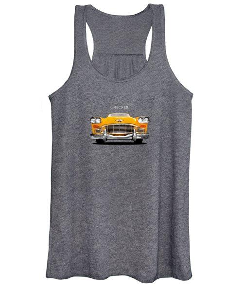 Checker Cab Women's Tank Top