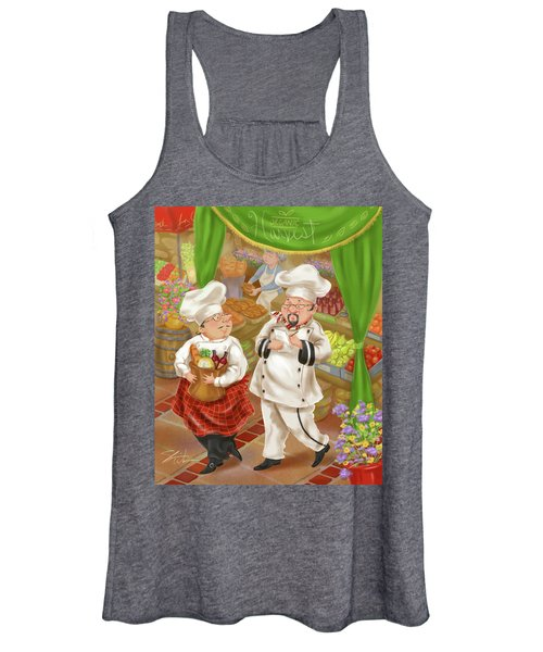Chefs Go To Market IIi Women's Tank Top