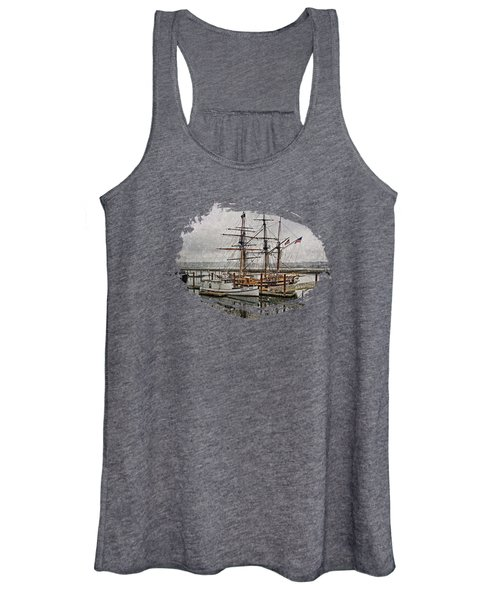 Chelsea Rose And Tall Ships Women's Tank Top