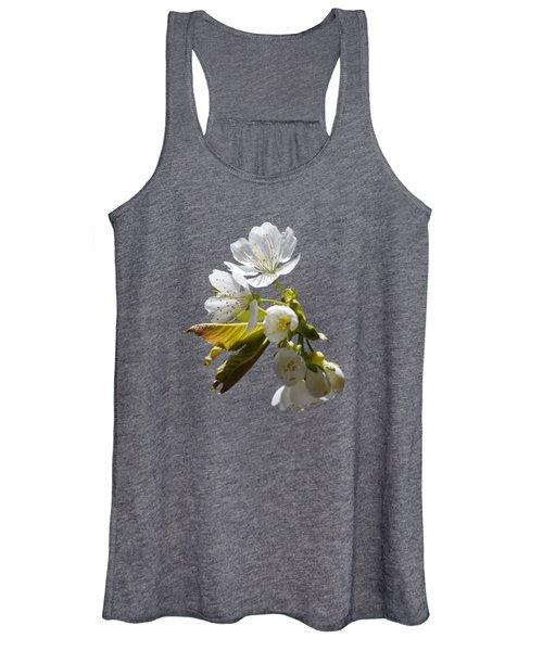 Cherry Blossoms Women's Tank Top