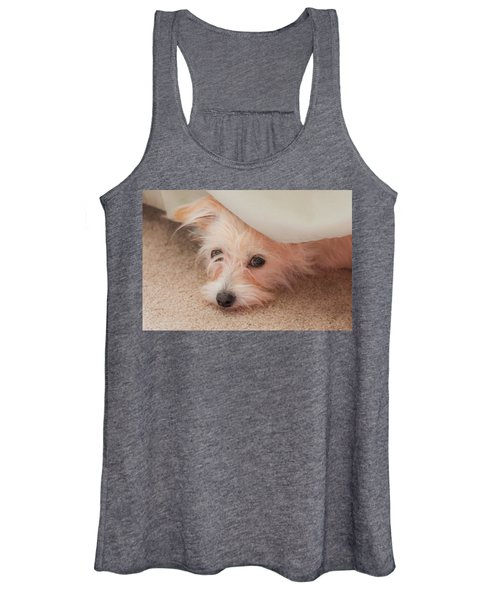 Chica In Hiding Women's Tank Top