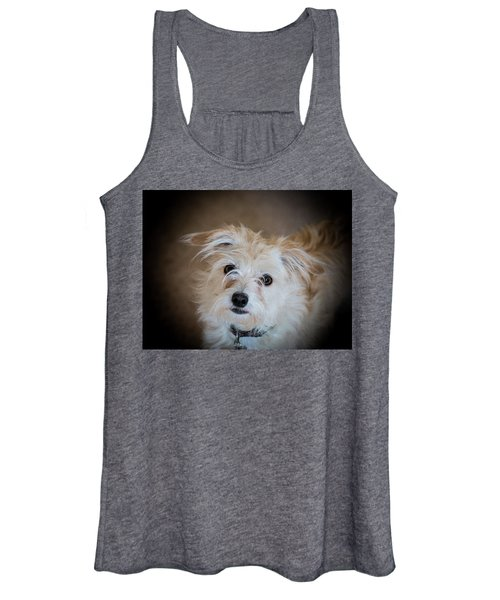 Chica On The Alert Women's Tank Top