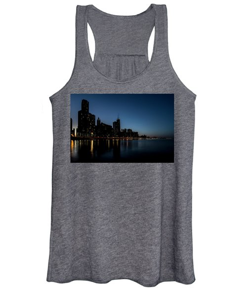 Chicago Skyline From Olive Park  Women's Tank Top