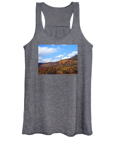 Chimney Rock Ghost Ranch New Mexico Women's Tank Top