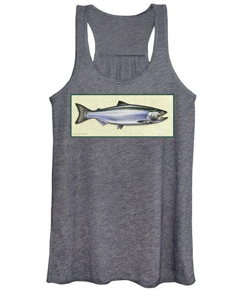 Chinook Salmon Id Women's Tank Top