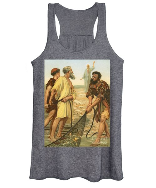 Christ Calling The Disciples Women's Tank Top