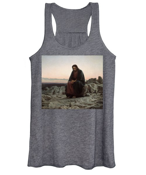 Christ In The Desert Women's Tank Top