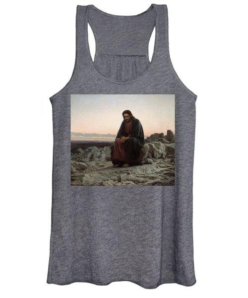 Christ In The Desert Women's Tank Top