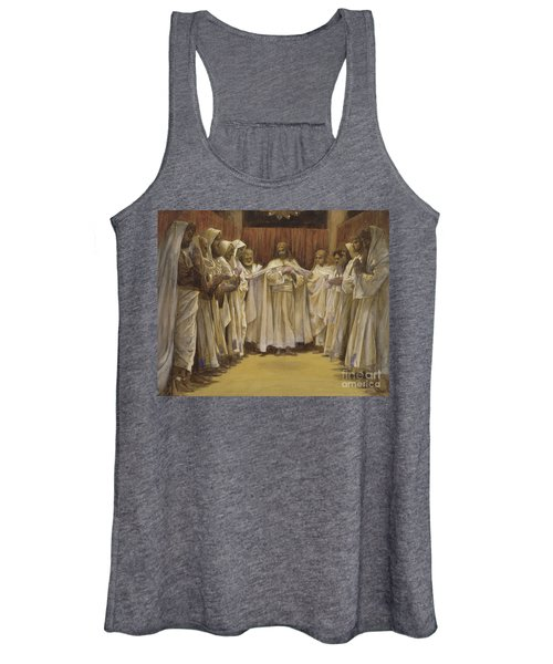 Christ With The Twelve Apostles Women's Tank Top