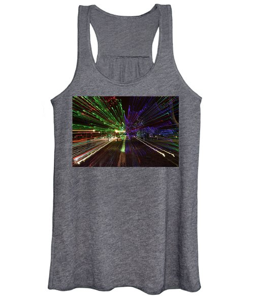 Christmas Exploding Women's Tank Top