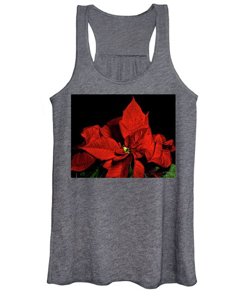Christmas Fire Women's Tank Top