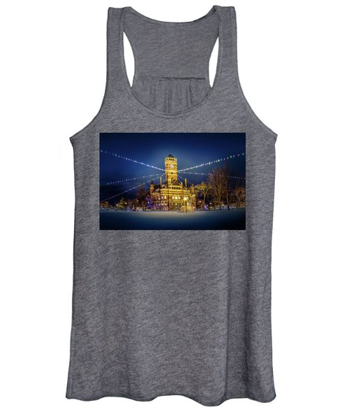 Christmas On The Square 2 Women's Tank Top