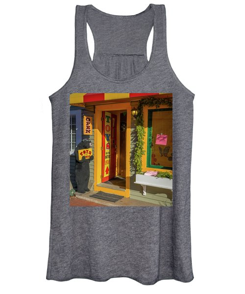 Christmas Toys In The Attic Women's Tank Top