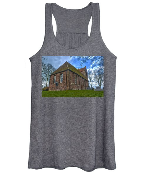 Church On The Mound Of Oostum Women's Tank Top