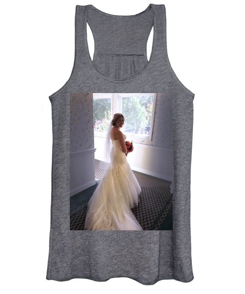 Cindy Sue Gets Married Women's Tank Top