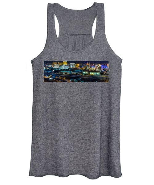 City Lifescape View Las Vegas Women's Tank Top