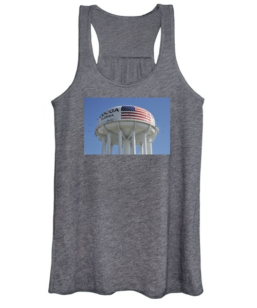 City Of Cocoa Water Tower Women's Tank Top