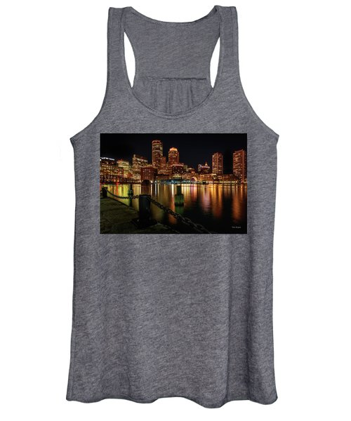 City With A Soul- Boston Harbor Women's Tank Top
