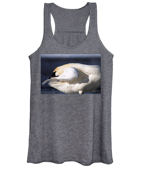 Cleanliness Is Next To Swanliness Women's Tank Top