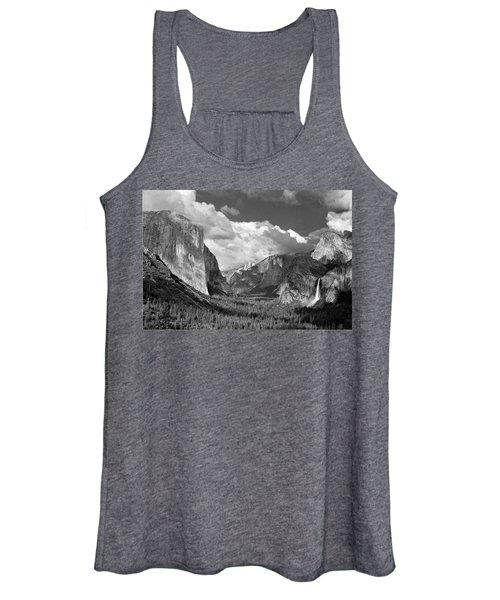 Clearing Skies Yosemite Valley Women's Tank Top