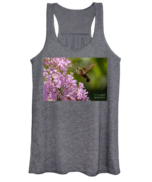 Clearwing Pink Women's Tank Top