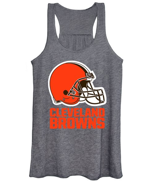 Cleveland Browns Translucent Steel Women's Tank Top