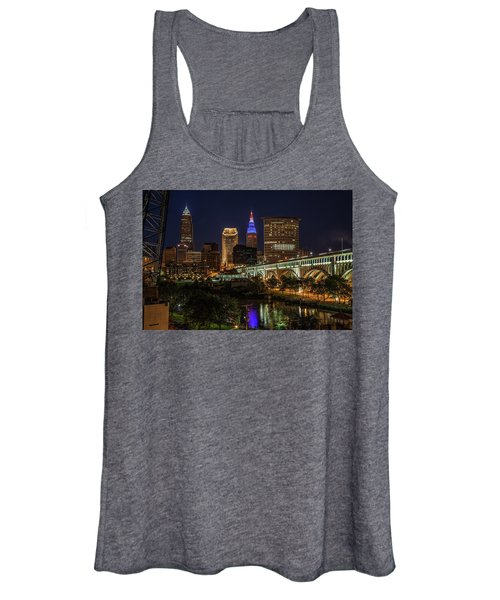 Cleveland Nightscape Women's Tank Top