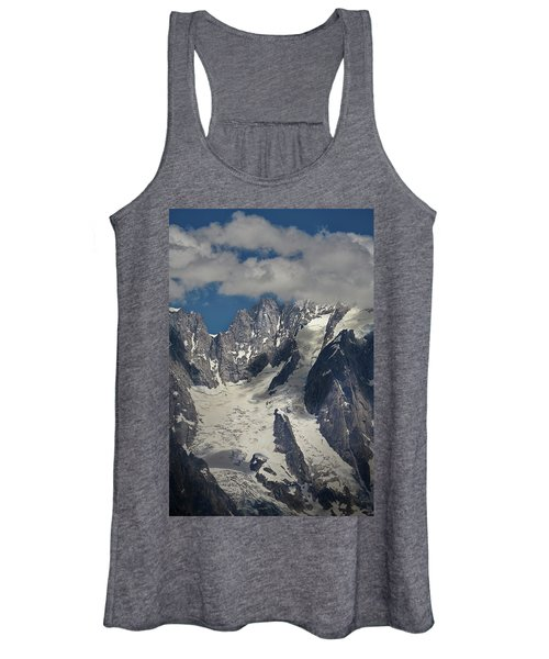 Cloud Cover In The Alps Women's Tank Top