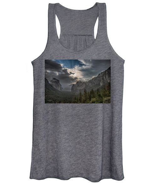 Clouds And Light Women's Tank Top