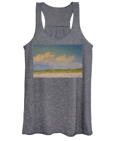 Clouds Over Goosewing Women's Tank Top