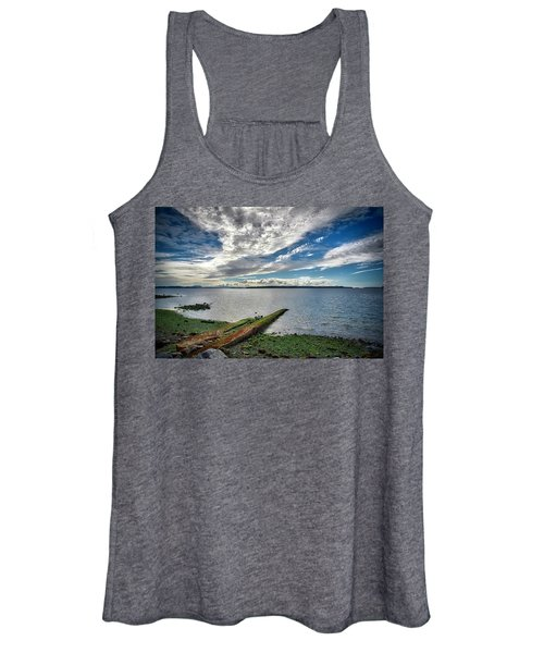 Clouds Over The Bay Women's Tank Top