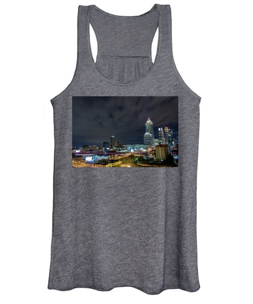 Cloudy City Women's Tank Top